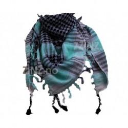 """Ørkenskjerf, """"Palestinaskjerf"""", Lys mint/lys lilla."""""""