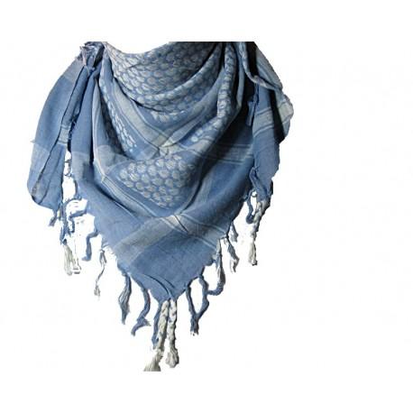 Shemagh(ensidig), Lys blå