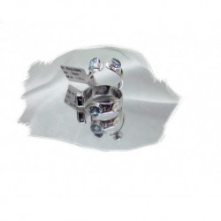 Sølvring m/topas regulerbar