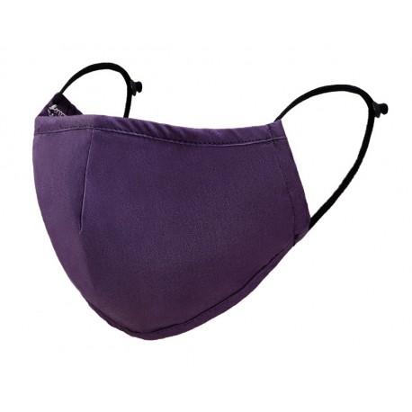 Munnbind/ ansiktsmaske vaskbar -lilla